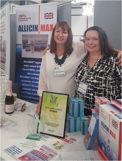 Allicinmax Awards Stand